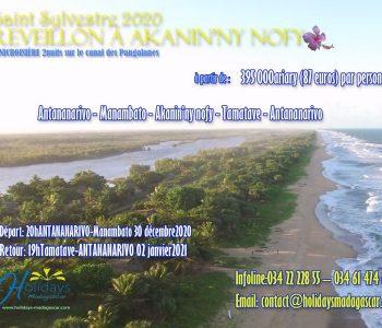 Réveillon 2020 dans un nid de reve sur le Canal des Pangalanes
