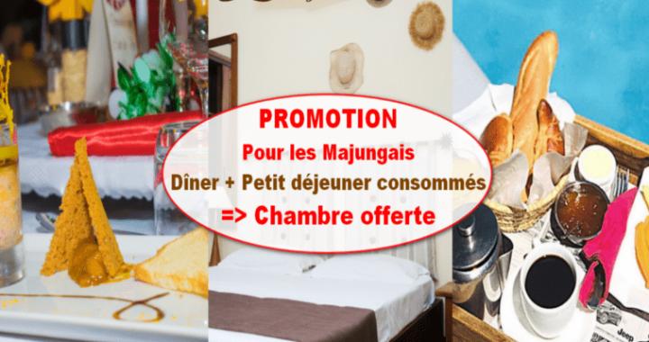 Promotion pour TOUS les Majungais jusqu'au 20 Février 2021