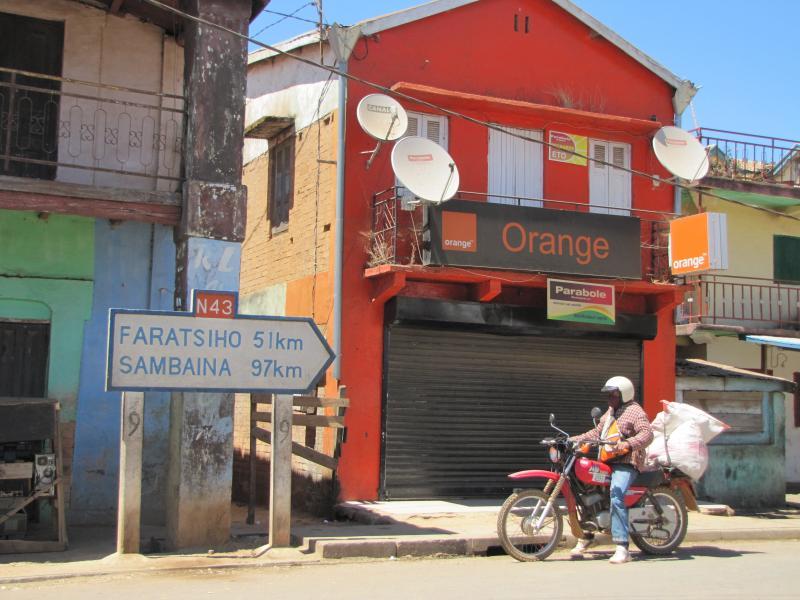 RN43 routes nationales de Madagascar de RN8 à RN55