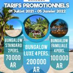 Mahambo La Pirogue Promotion 2021