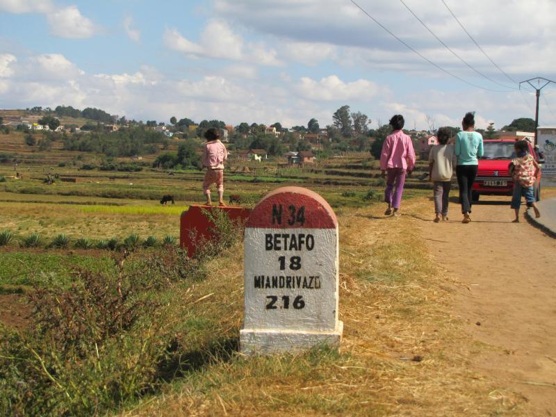Escale massage aux Thermes de Betafo RN 34 Antsirabe à 200 kms de TANA, satisfaction garantie pour votre santé