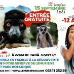 LEMURS PARK Entrée gratuite pour les enfants moins de 12 ans