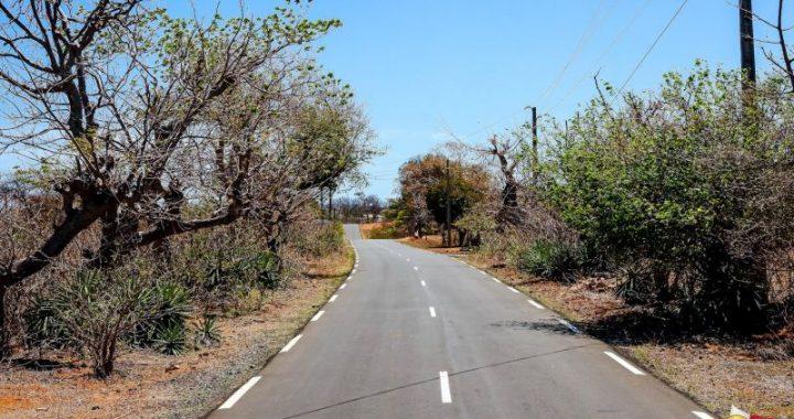 La route de Ramena inauguration par Rajoelina le 11 septembre 2021